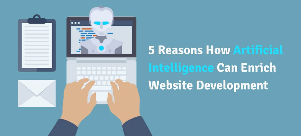 artificial intelligence in website development