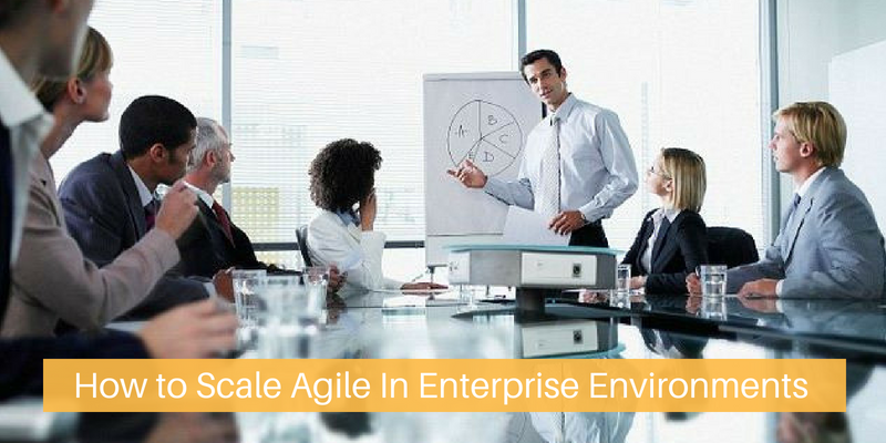 How to Scale Agile In Enterprise Environments
