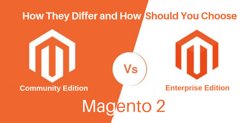 Magento 2 EE and CE
